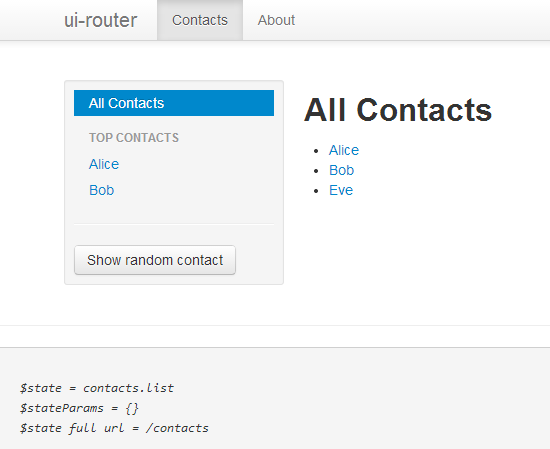 Angularjs ui-router使用心得